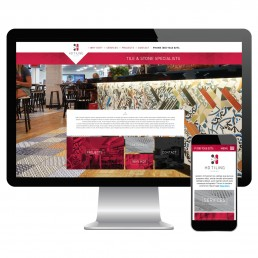 HD Tiling website design and development