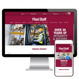 Flexistaff Website Development