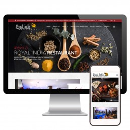 Royal India Restaurant Website Design