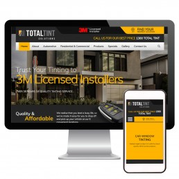 Total Tint Solutions Website Marketing